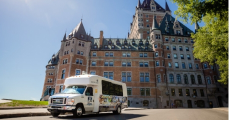 Quebec Bus Tour