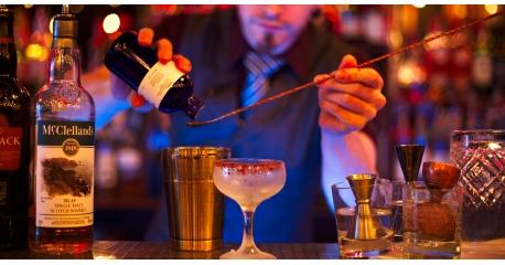 Le Lab, comptoir à Cocktail