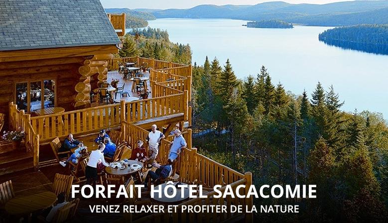 Forfait Hôtel Sacacomie