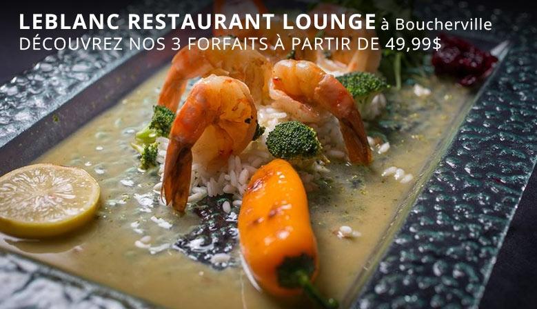 Leblanc restaurant lounge à Boucherville